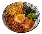【本日発売】丸亀製麺「担々まぜ釜玉うどん」