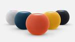 アップルのスマートスピーカー、HomePod miniに明るい3色追加