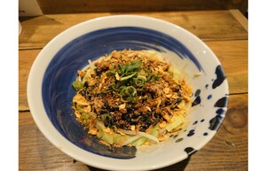 山椒が刺激的! 「麺屋翔」みなと店限定で「辛シビ汁無し坦々麺」を販売