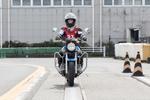 バイク免許1段階終了! 今まで習ったすべてを見せつけろ!