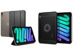 Spigen、PUレザーと耐久性の高いポリカーボネートを使用した手帳型ケースなどiPad mini 6用ケース2製品を発売