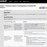 AMD Ryzen CPUのWindows 11で起こる複数の不具合が解消