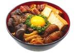 鰻×すき焼! 名代宇奈とと、きのこたっぷり「うなすき丼」