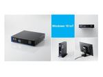 エレコム、オンプレミス型サイネージ「掲示版 NEXT」のWindows対応STB「LX-VC01N-KNMB」を10月下旬から発売
