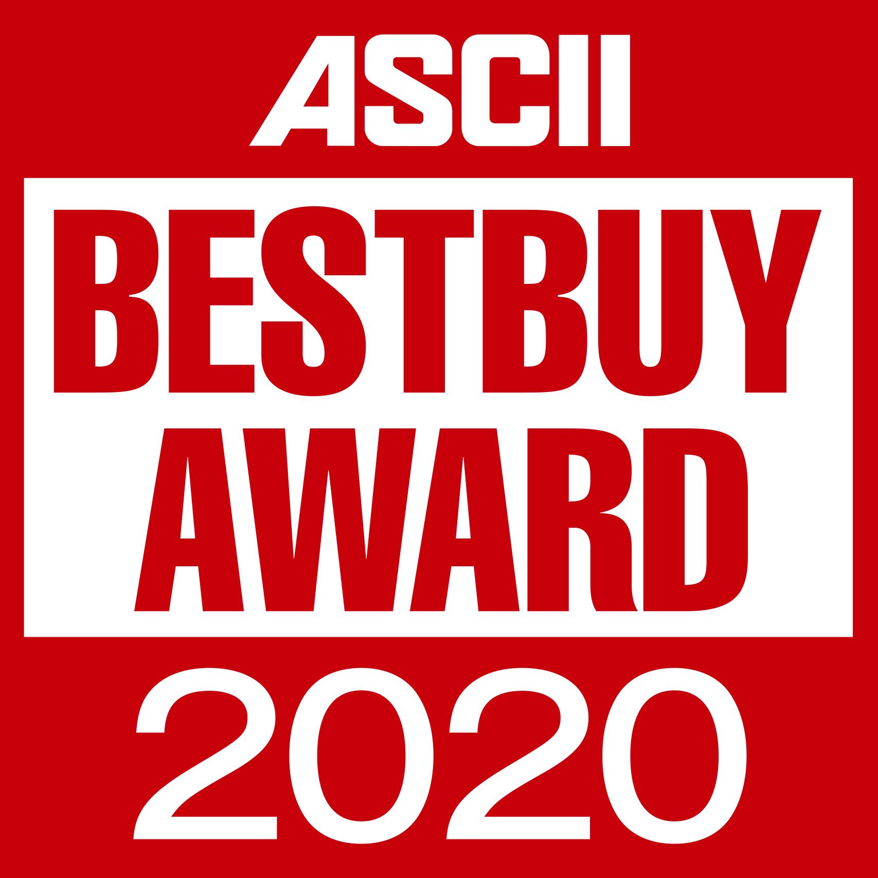 ASCII BESTBUY AWARD 2020