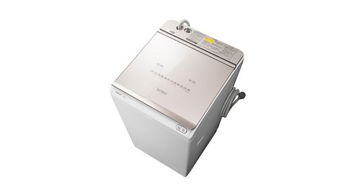 タテ型洗濯機・衣類乾燥機ビートウォッシュ BW-DKX120F